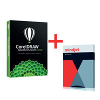 CorelDRAW Graphics Suite 2018 plus MindManager 15 WIN