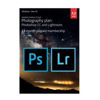 Adobe Creative Cloud Foto-Abo (Photoshop CC & Lightroom CC)